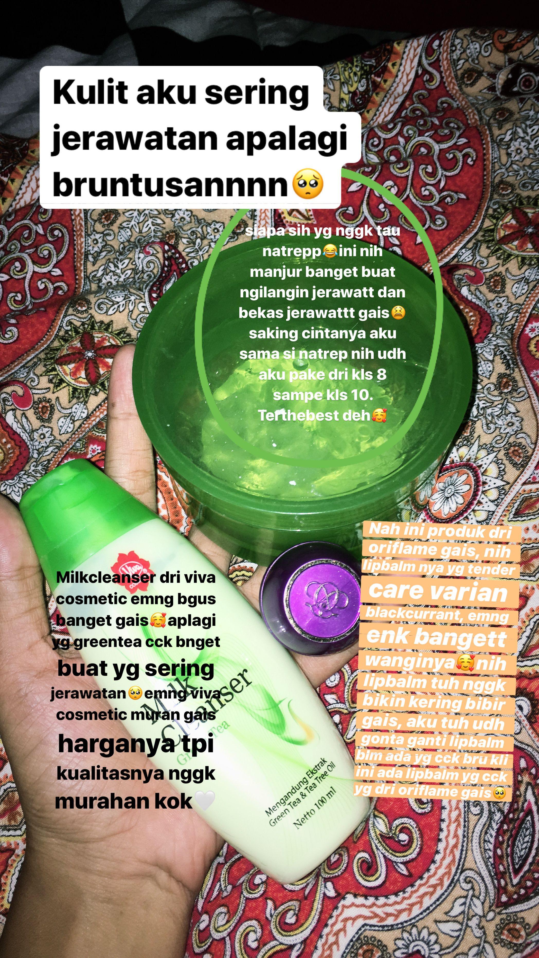 Manfaat Viva Skin Food Untuk Wajah Berjerawat