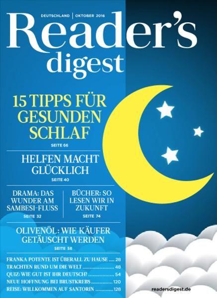 Reader's Digest Germany - Oktober 2016
