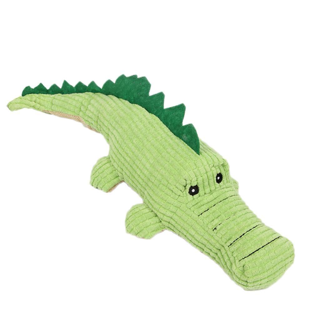 Dog Chew Toy Sound Plush Pet Puppy Toys Squeaky Crocodile Toys
