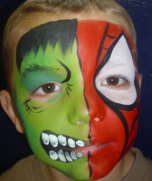 25 Artistic Halloween Face Painting Ideas For Kids With Images