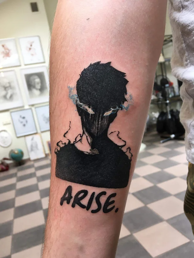 Fresh Solo Leveling Tattoo Arise Sololeveling In 2021 Tattoos Cool Tattoos Paw Print Tattoo