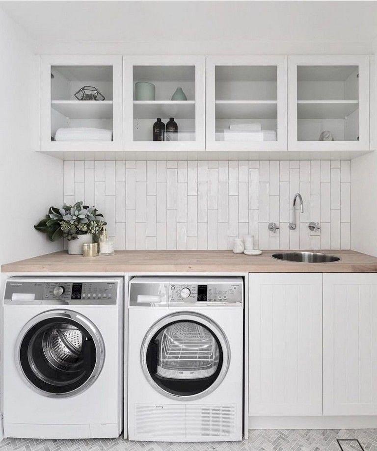 50 Fantastic Farmhouse Laundry Room Decor Ideas