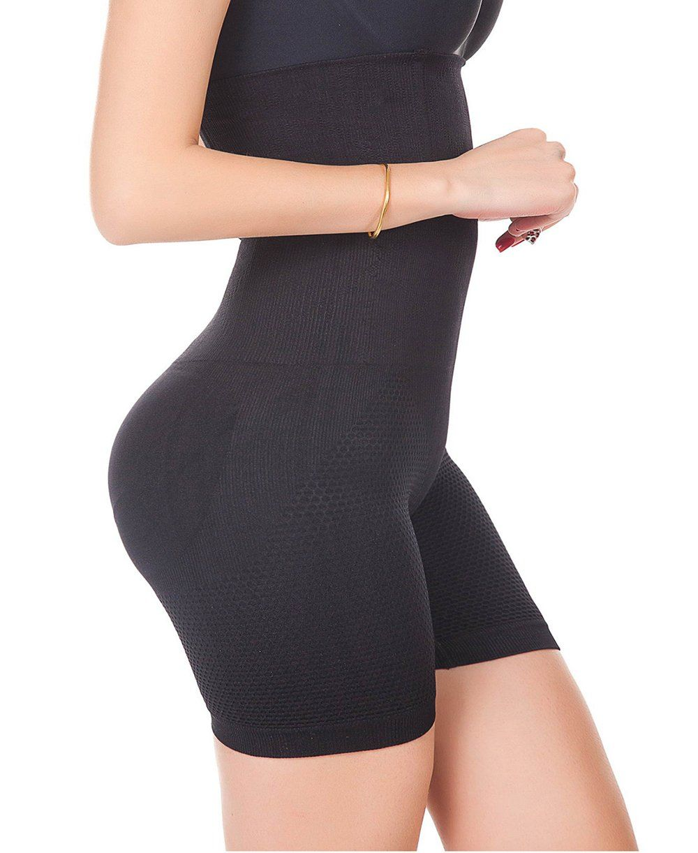 b8baec1745c12 LYZ Womens Shapewear Bodysuit High Waist Seamless Strapless Tummy Control  Thigh Slimmer Shorts     Read more at the image link. (Note Amazon  affiliate link)