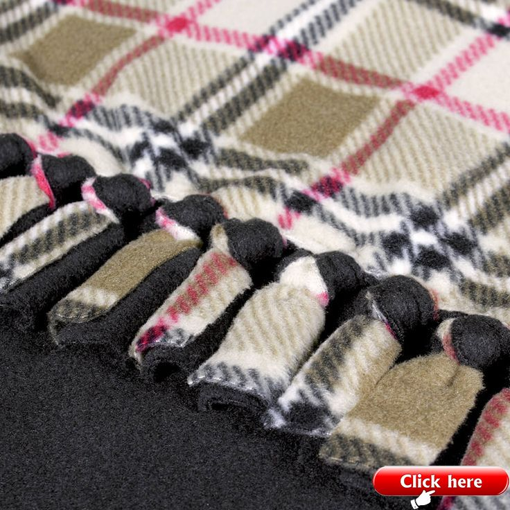 How To Make a No Sew Fleece Blanket 2019 Fleece