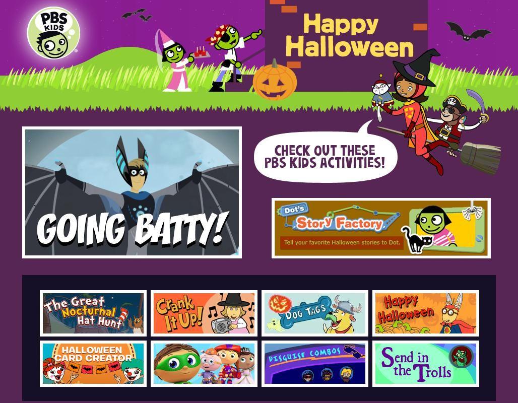 resource image for pbs kidshalloween | halloween books