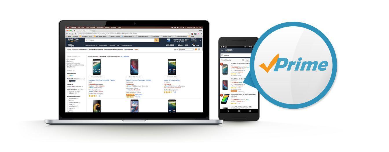 Amazon Providing 30 days free PRIME trial Enjoy