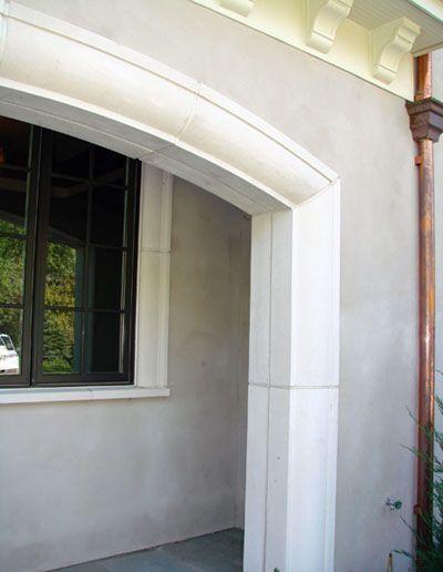 Exterior Trim Mouldings : Cast stone exterior mouldings door trim