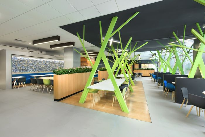 pdm international has developed the interior design for the new offices of global technology company microsoft