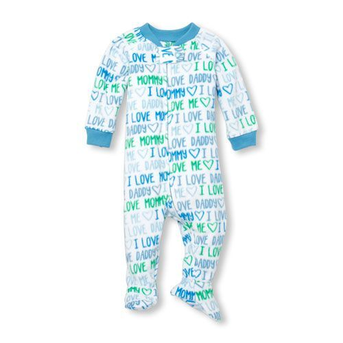 9e20e74d8b Baby And Toddler Boys Long Sleeve Family Printed Footed Blanket Sleeper   babyBlanketSleepers
