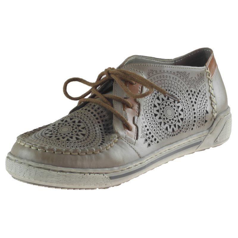 Polbuty Rieker 42443 62 Bezowe Buty Damskie Polbuty Dziurkowane Dress Shoes Men Oxford Shoes Cole Haan Zerogrand Oxford