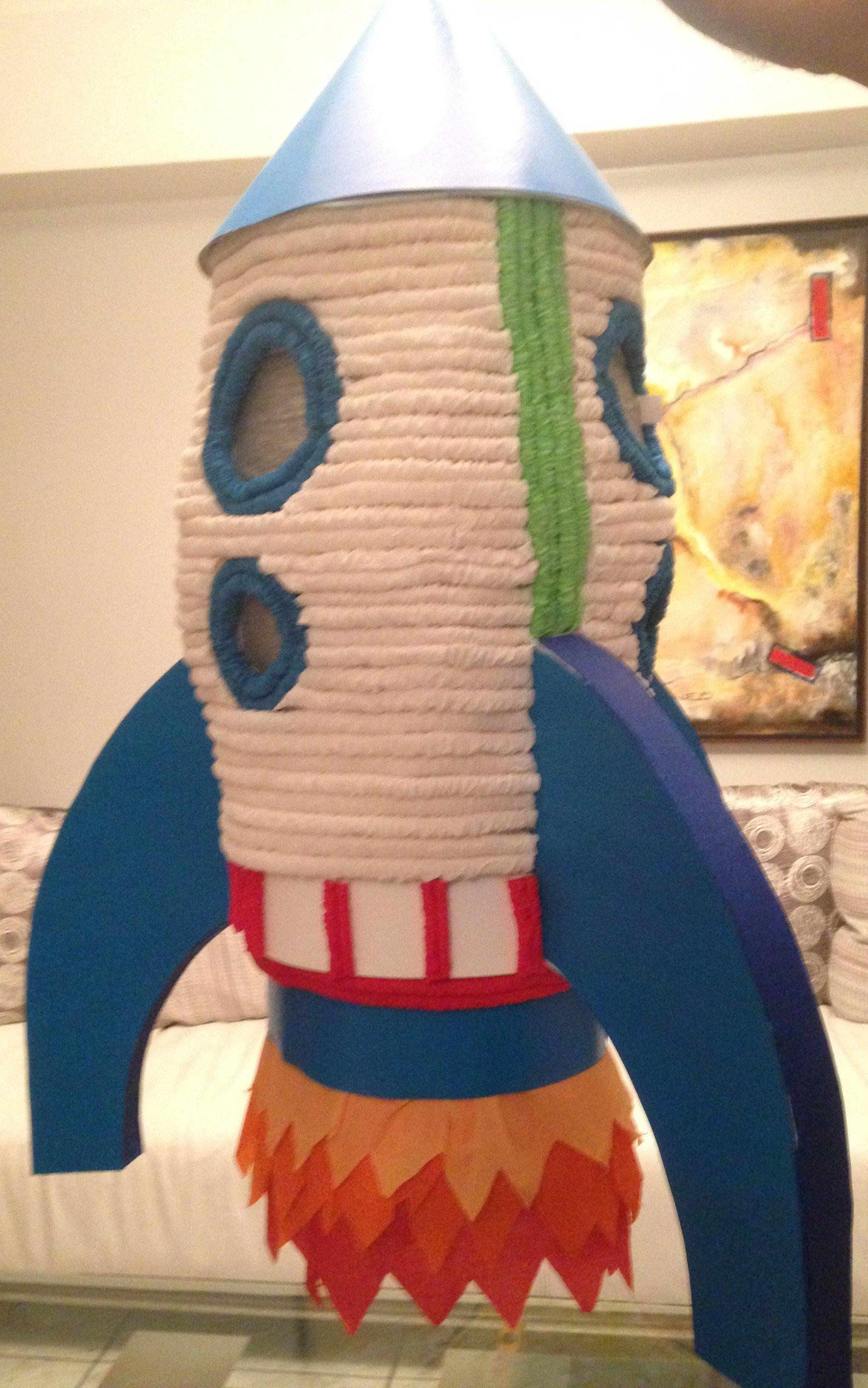 Piñata de cohete de buzz lightyear | Emily | Pinterest | Fiestas ...