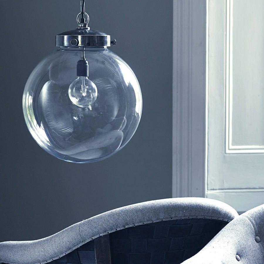 Bayliss Large Globe Pendant Light