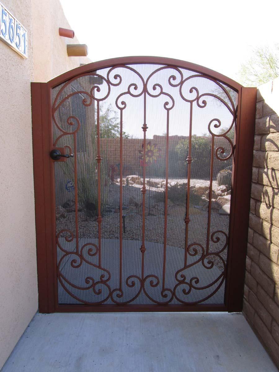Wrought Iron Gates Ornamental Gates With Images Iron Gates