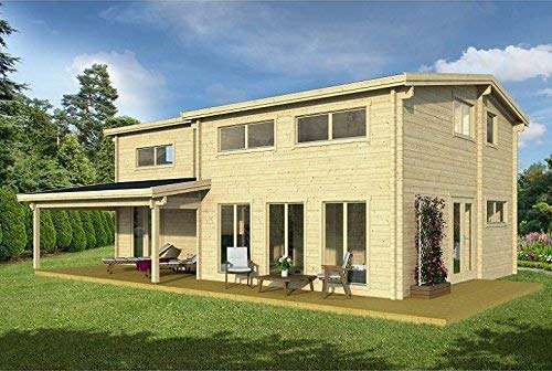 Amazon Com Allwood Eagle Vista 1336 Sqf Cabin Kit 640 x 480