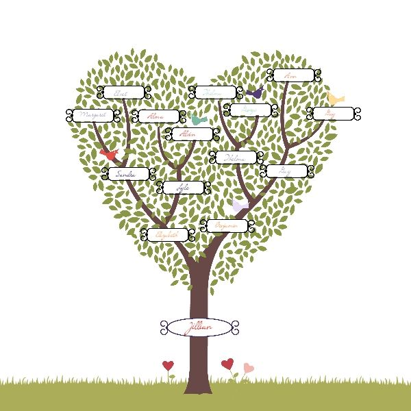 family tree image template