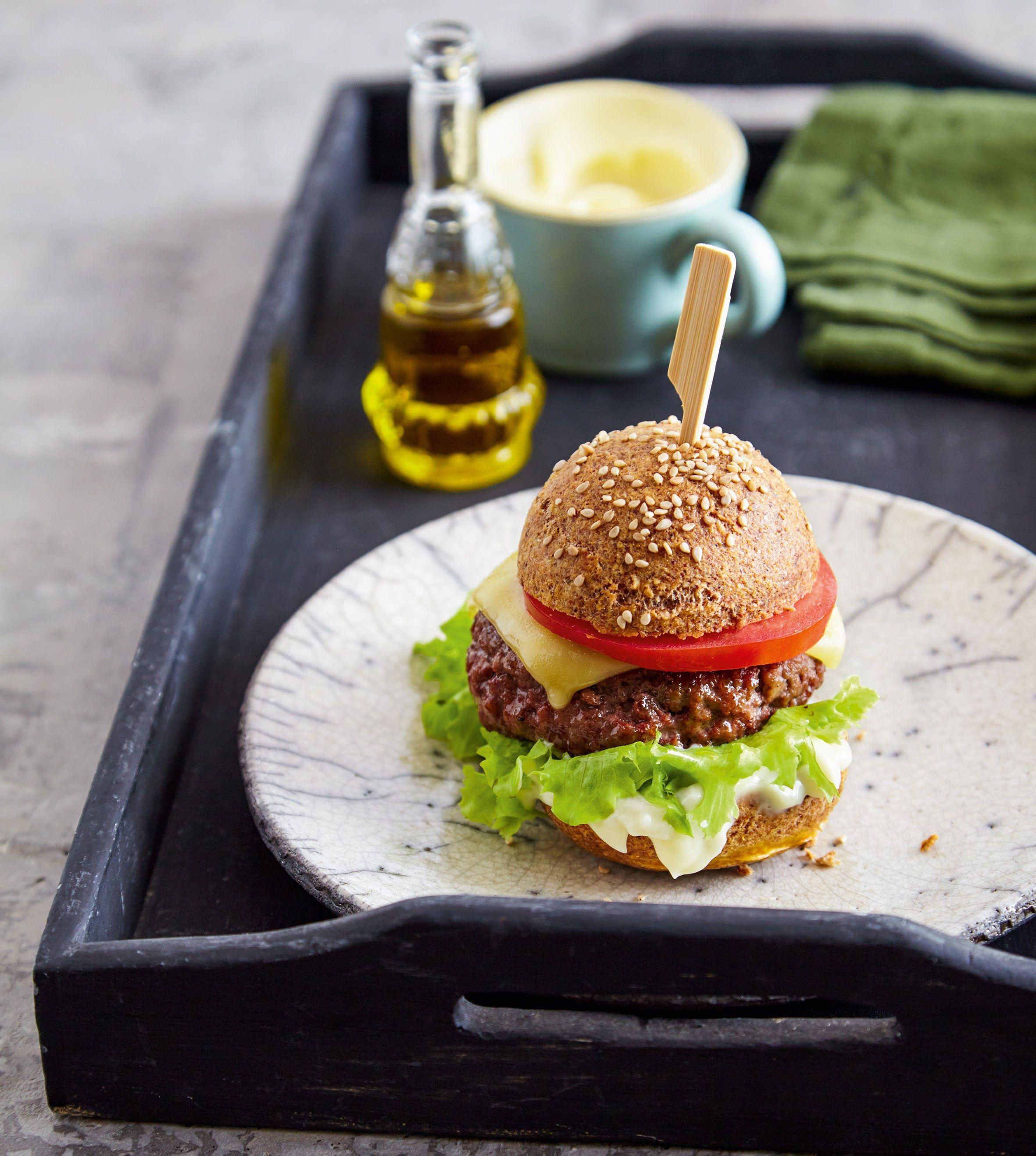 Low-Carb-Burger: So Lecker Schmeckt Das Fastfood Ohne