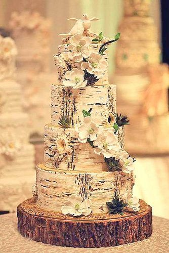 42 Rustikale Hochzeitstorten, die man gesehen haben muss   – wedding cakes