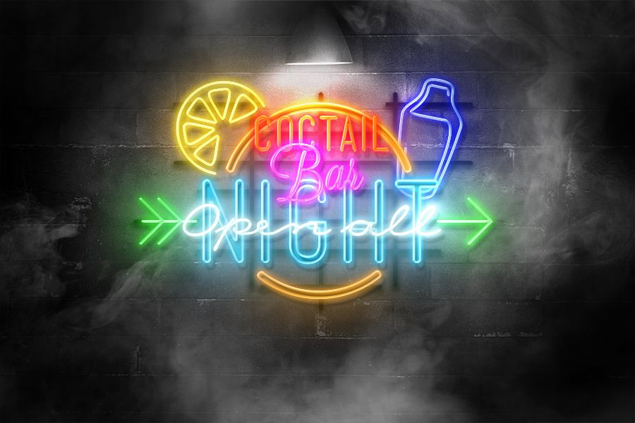 Add neon effect to your logo/text using this neon logo mockup psd template, using this mockup is very easy, simply open the smart layer and put your own. Free Neon Mockup Styles Free Design Resources Letreros Vintage Letras Bonitas Cursivas Descargas Gratis
