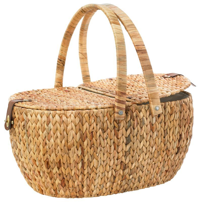 John Lewis Water Hyacinth Picnic Hamper (With images