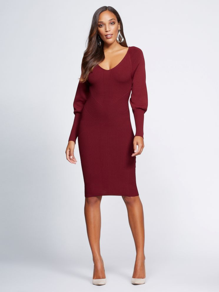 9de2df54a3a This sweater dress is part of Gabrielle Union s NY   Co. collection.  dress   style  fashion  shopping