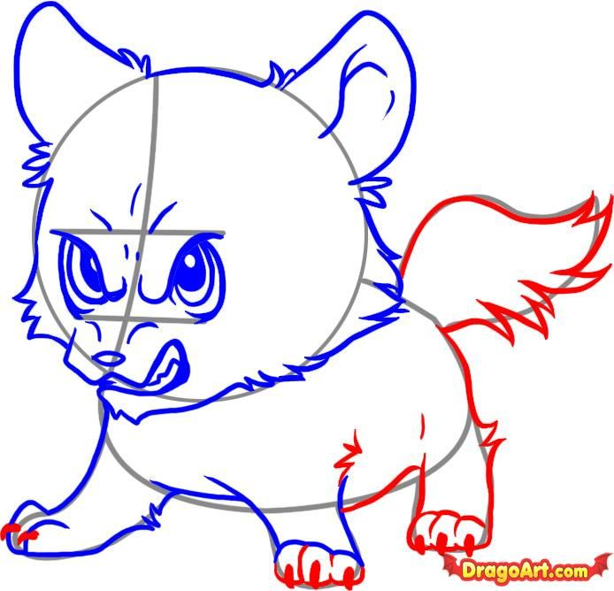 How To Draw Chibi Wolf Jacob Step By Step Chibis Draw Chibi Anime Draw Japanese Anime Draw Manga Free Online Draw Chibi Drawings Drawings Online Drawing