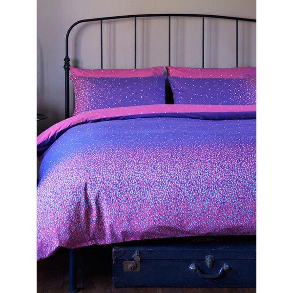 Kingsley Eclipse Superking Duvet Set Purple 92 Found On Polyvore My Ultimate Bed Set I Wannnnt Iiiit Duvet Sets Home Double Duvet Set