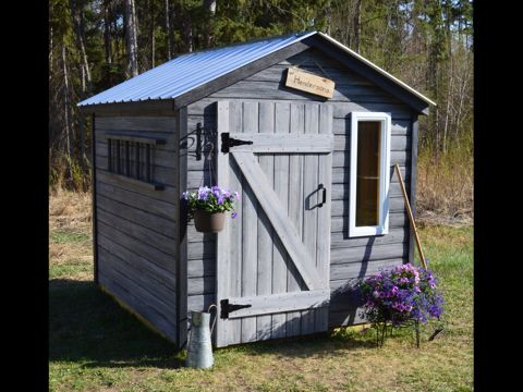 cute cozy quaint rustic garden shed 1195 from on second thought woodworks
