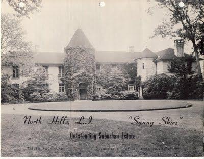 'Dorwood', the Victor Emanuel estate designed by John Stewart Barney c. 1927.