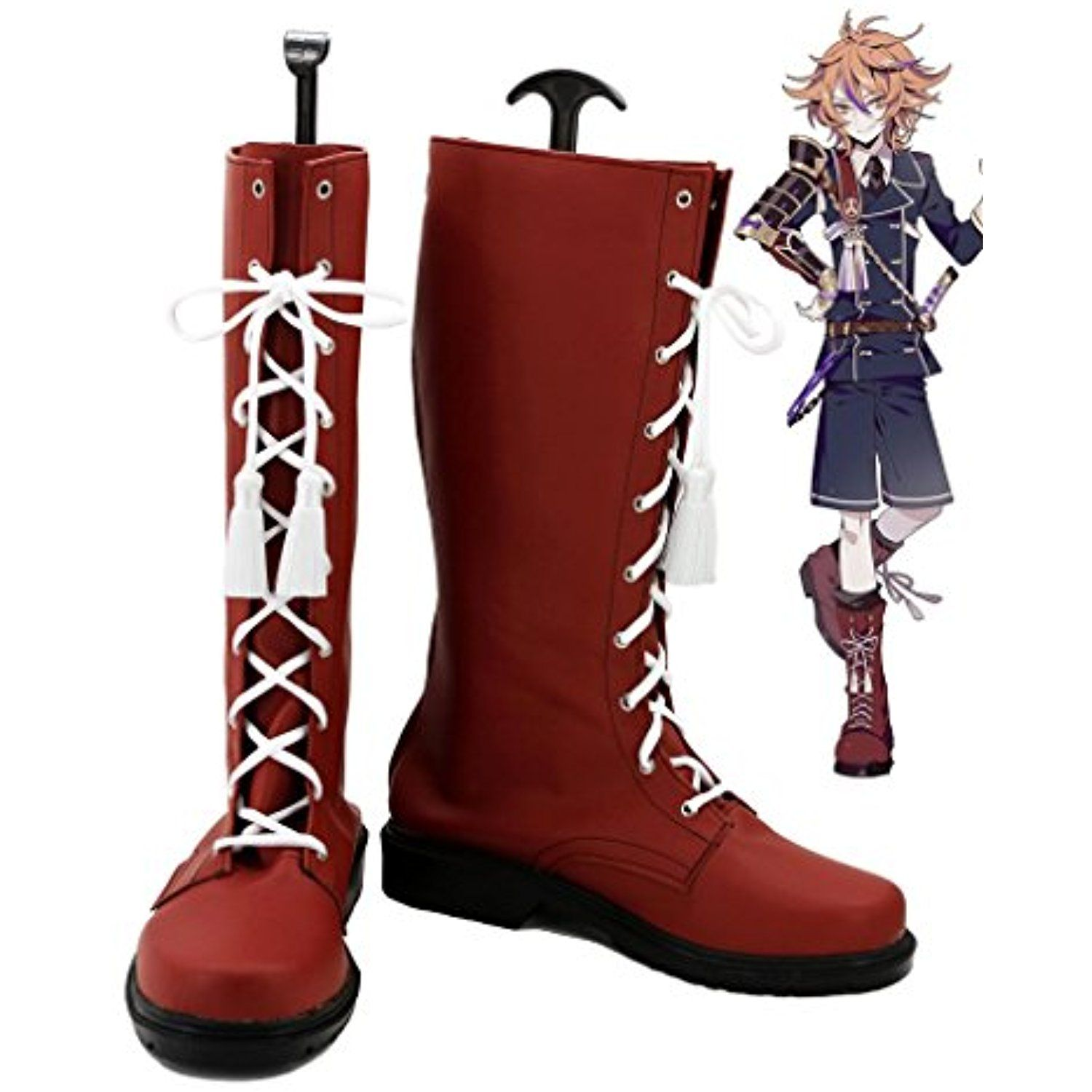 Touken Ranbu Online Game Gotou Toushirou Cosplay Shoes Boots Custom Made