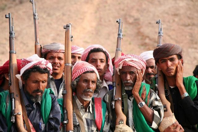 Hadrami yemeni-tribesmen