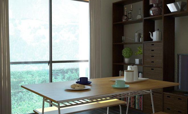 床がダークブラウンなリビングなので基本の家具はダークブラウンでまとめて 白と黒をカーテンやラグなどのファブリックで取り入れてみました コーデ考えるときは 部屋が持つテイストや色を念頭に考えるとまとめやすいです 間取り図 リビングダイニング 縦長