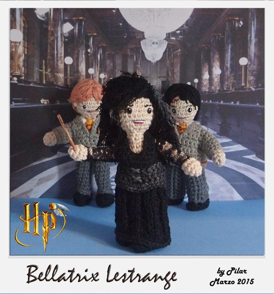#amigurumi Harry Potter, Ron, Bellatrix