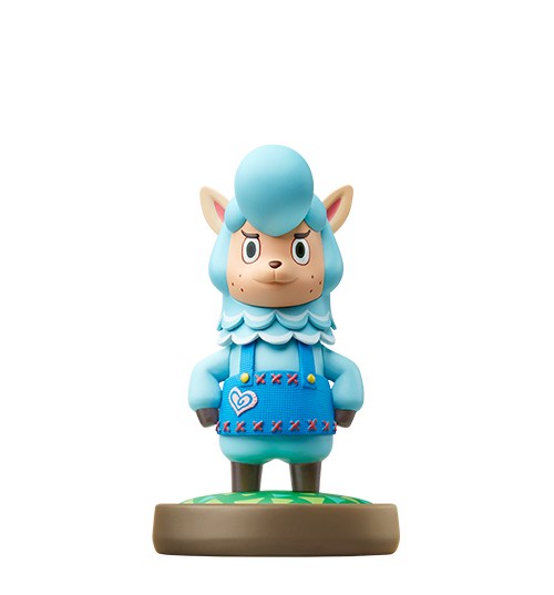 Cyrus Series Animal Crossing Cyrus is a blue alpaca and