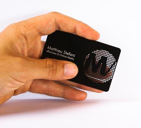 Concours Remporte 100 Cartes De Visite En Mtal Avec Ironcards