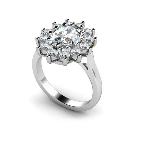 Multistone Diamond Ring MTC-267 **Remember to use Discount code 'PINDIAMOND' for great savings at the checkout!