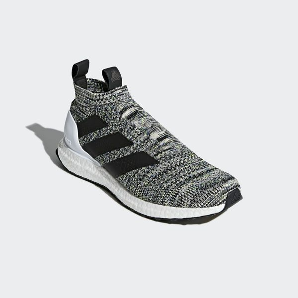best service 4f8d2 4d521 ... fresh running details, these shoes feature an innovative hybrid design.  Ultra-cushioned Boost is responsive and energizing, and a snug, laceless  adidas ...