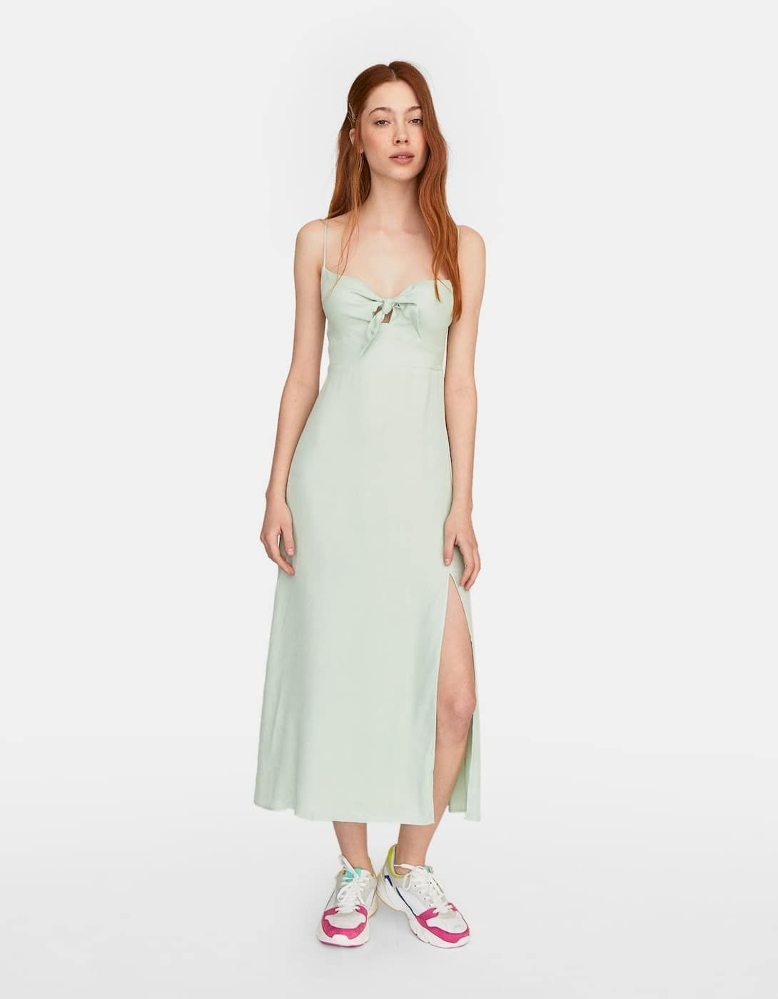 Vestido 2019Inditex Y Mango Lencero DressesWhite En Dress kiuTOZPwXl