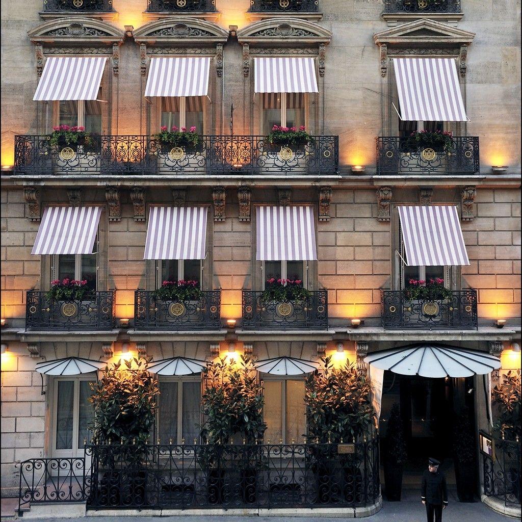 Hotel Lancaster Paris France. #jetsetter Wanderlusting