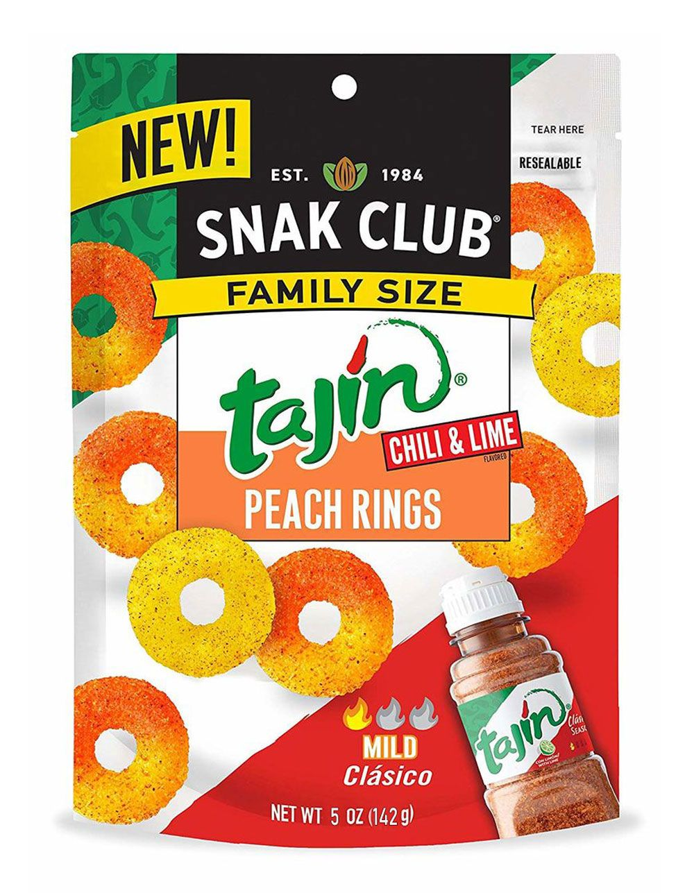 Tajin 5oz Chili Lime Peach Rings Multi Wsk29647 In 2021 Chili Lime Peach Lime