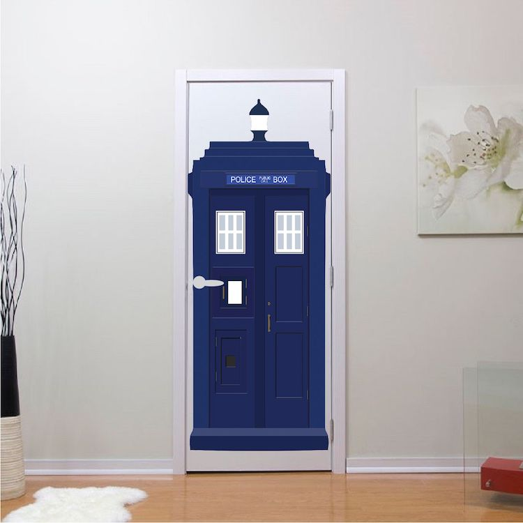 Dr. Who TARDIS Vinyl Wall Decal   Tardis Wall Decal   Dr. Who Wall Design    Primedecals   Bedroom Wall Decals   Pinterest   Wall Decals, Bedroom Wall  Decals ...