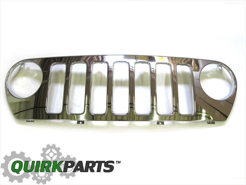 05 06 Jeep Liberty Renegade Model Front End Chrome Grille Oem New