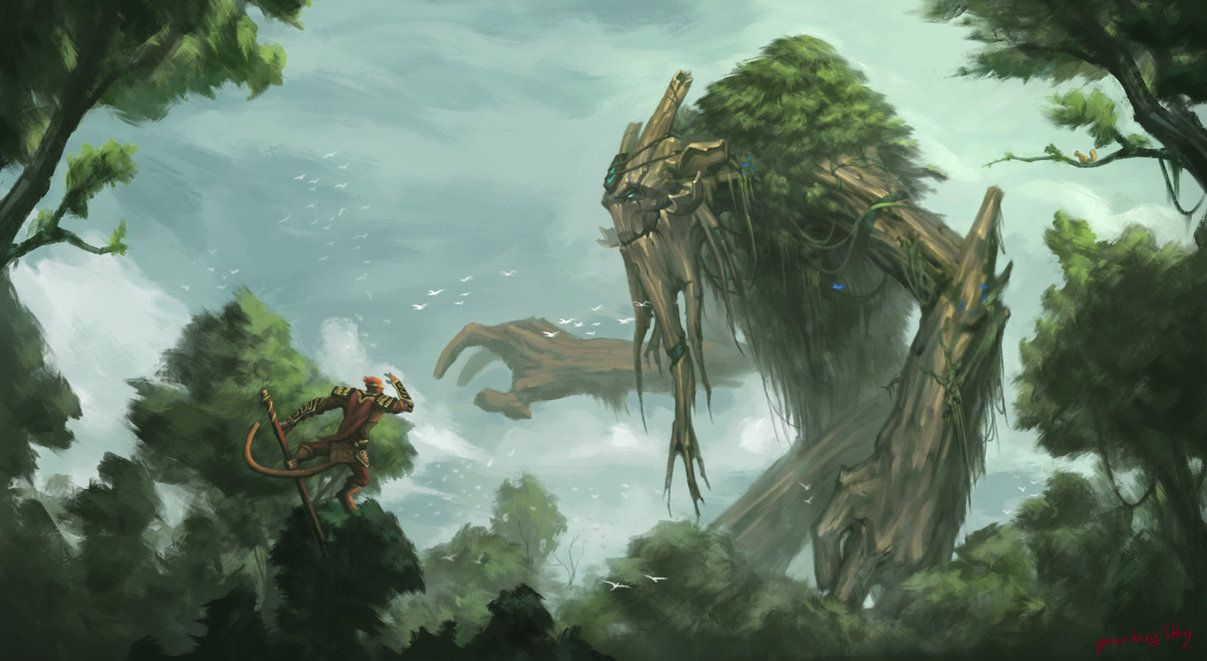 Pin By Michael Mendoza On Great Forests Dota 2 Dota 2 Wallpaper