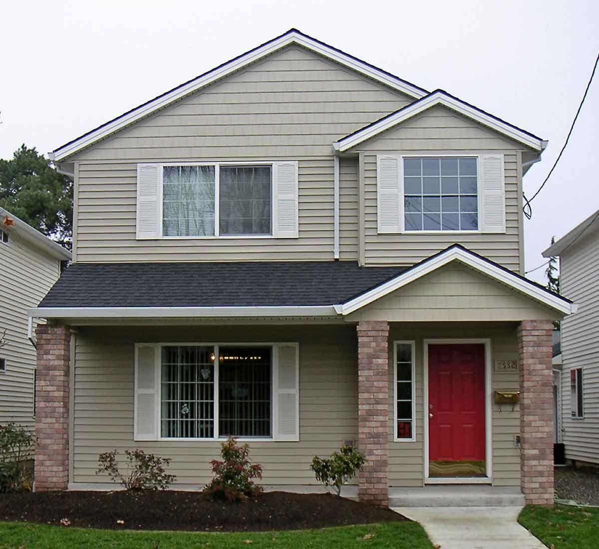 Best Inspiring Small House Plans | Narrow lot house plans ...