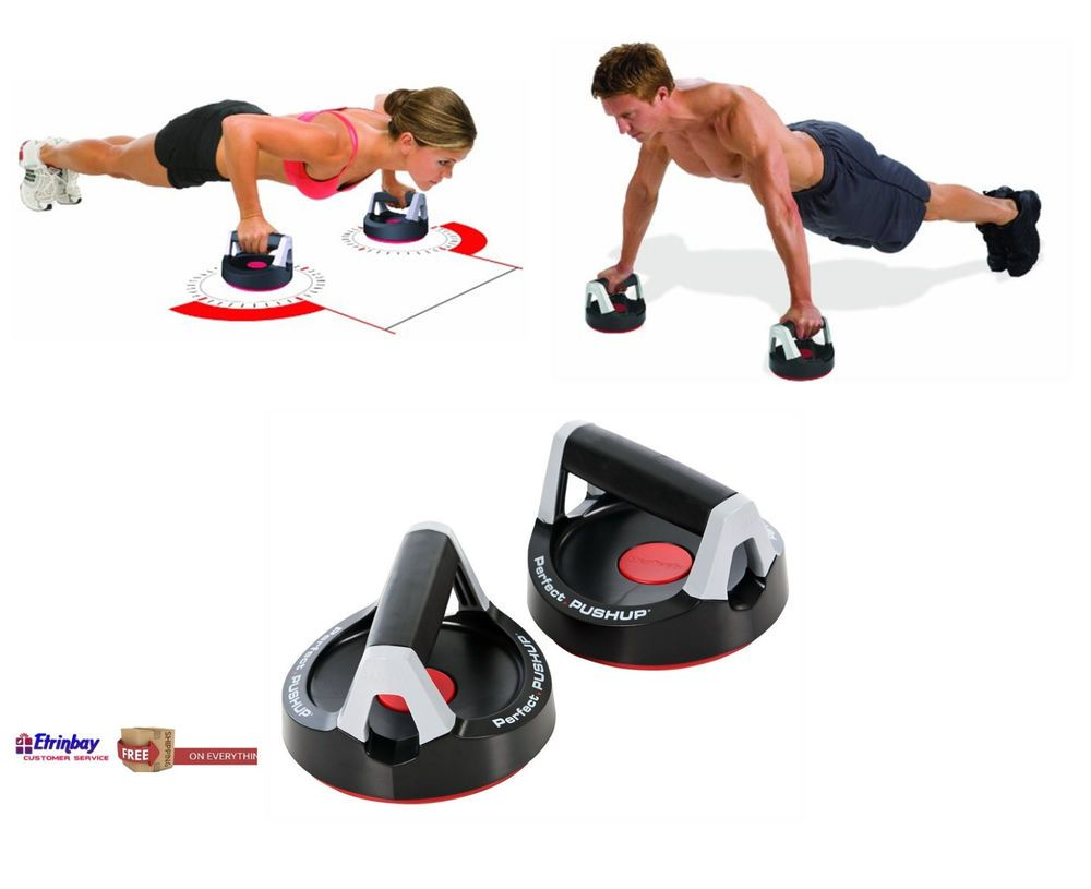 Pair Perfect Fitness Perfect Pushup Rotating Push Up Handles