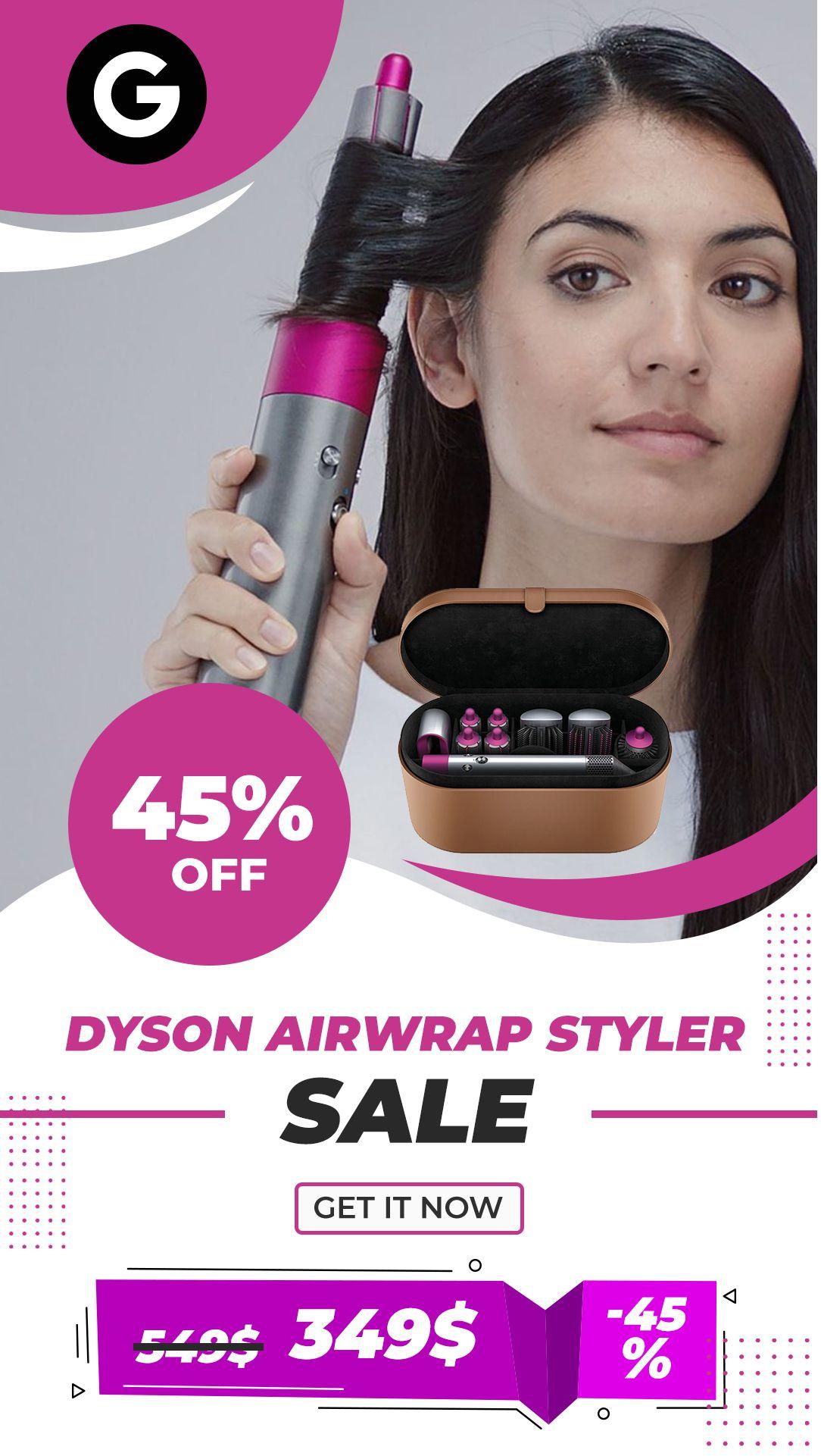 Dyson Airwrap Complete Hair Styler in 2020 Hair styler