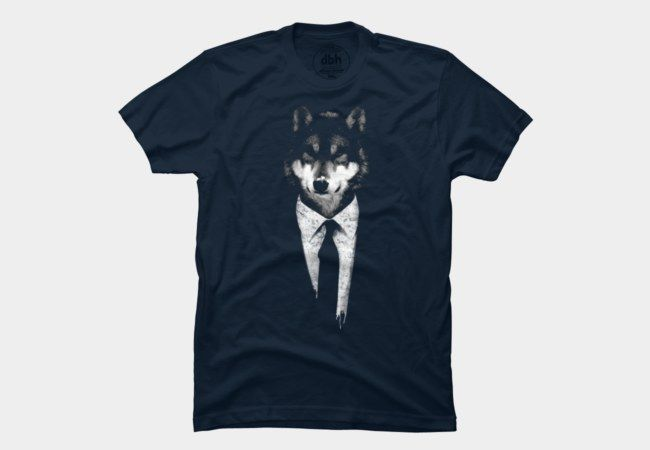 mr wolf Men s T-Shirt  d14fd27efb14