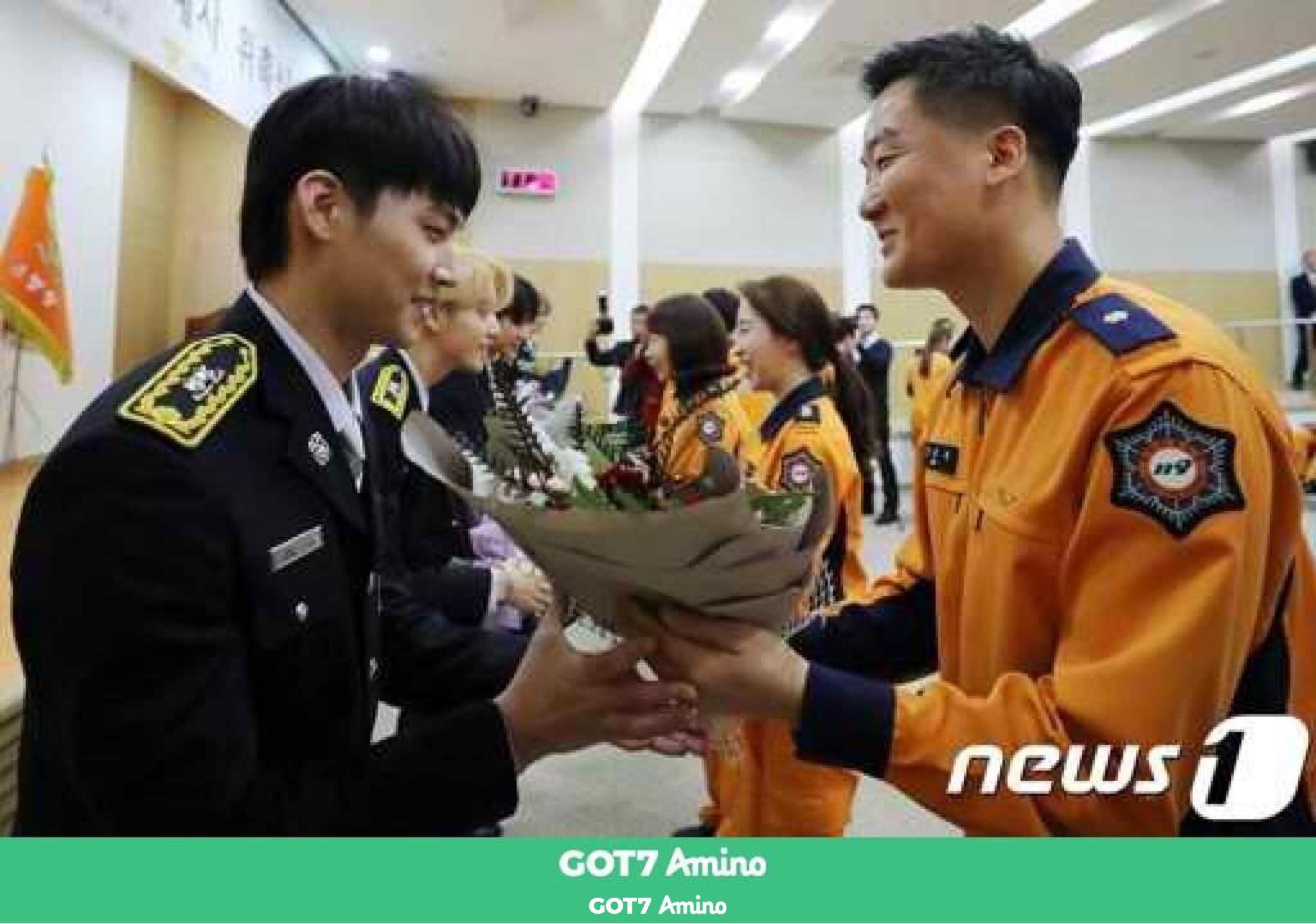 Pin by kim on Jb in 2020 Got7, Ambassador, Firefighter