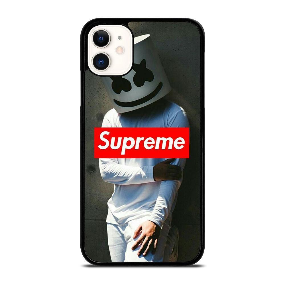 Supreme Marshmello Iphone 11 Case Cover Vendor Favocase Type Iphone 11 Case Price 14 90 This Premium Supreme Marshmello Iphone11 Case Will Create Luxury St