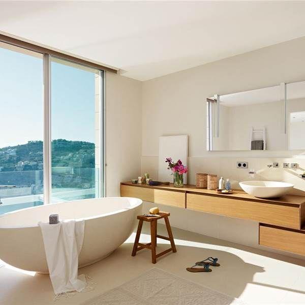 Baños de ensueño con bañeras exentas Baños Pinterest Bañera