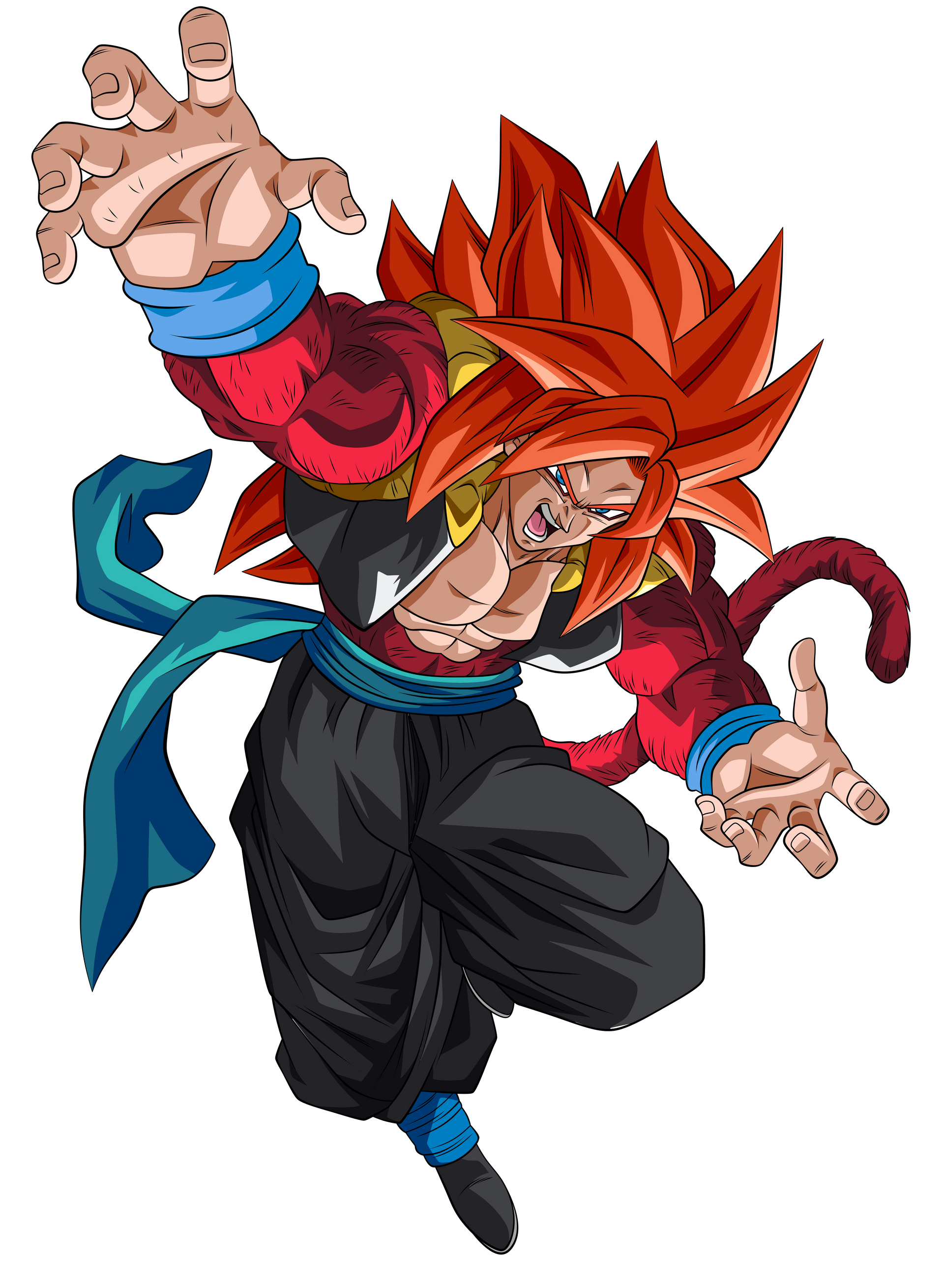 Gogeta Super Saiyajin 4 Render 1 Alt 6 By Ssjrose890 On Deviantart Dragon Ball Super Manga Anime Dragon Ball Super Dragon Ball Super Goku